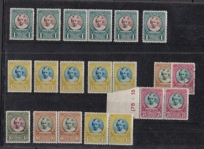 Jan950 LUXEMBOURG Caritas 1928 High Quality MNH & CANCELLED stamps