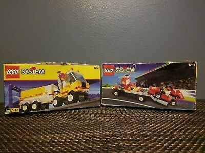 Vintage Lego sets- new in box, lot of 2