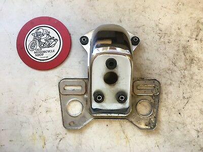 1979 Honda Cb 650 Tail Light License Plate Bracket Oem