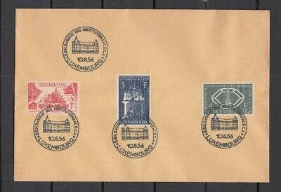 Jan959 LUXEMBOURG 1956 Communaute Europeenne du Charbon CANCELLED stamps