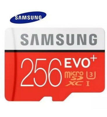 NEU SAMSUNG EVO PLUS 256 GB 80 MB/s UHS-I U3 PLUS SD  ADAPTER CLASS 10