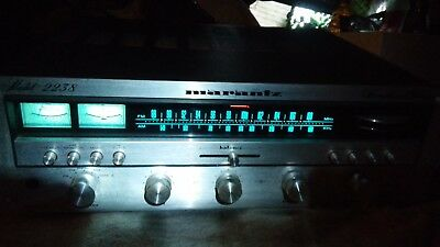 **LOOK MARANTZ 2238 AM FM STEREO Receiver Amplifier Works Parts Repair READ