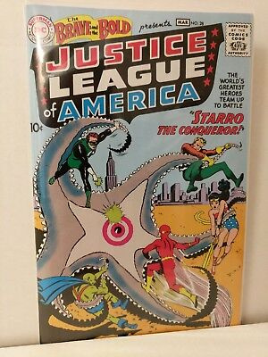The Brave & The Bold Presents Justice League Of America Issue #28 Reprint DC