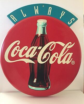 Coca Cola Plastic Sign 'Always Coca-Cola' 21 inches