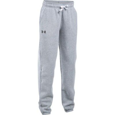 Under Armour girls grey tracksuit bottoms. Jogging bottom. Track pant. S,M & L