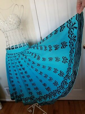 True Vintage 50s Circle Skirt with Bows