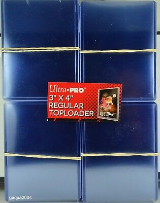 "Ultra Pro Top Loaders 3""x4"" Regular for Trading Cards, 2 Packs of 25"