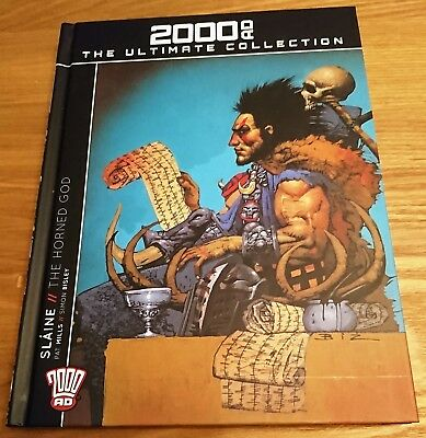 2000Ad The Ultimate Collection Issue 1 - Slaine The Horned God - Hard Cover....
