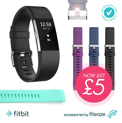 Soft Silicone Replacement Fit Bit Spare Band Strap for Fitbit Charge 2