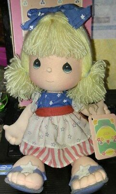 Precious Moments, Doll of the Month, July, 1988 w/Stand and Box