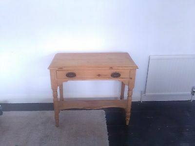 Old Pine Washstand, Antique Hall Table, Rustic Furniture, Shabby Chic, Victorian