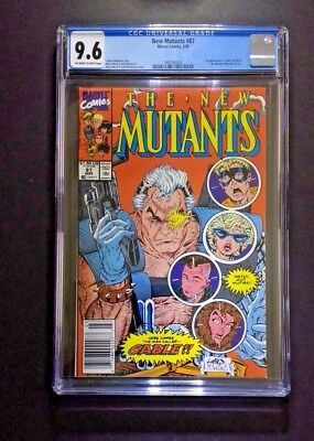 NEW MUTANTS #87 CGC 9.6 newsstand NM 1st appearance Cable Marvel Comics Deadpool