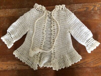 Vintage Baby or Doll sweater (please see shipping details in description)
