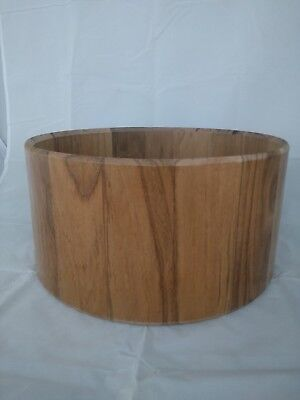 "DE - Sale! - Stave Drum Shell - Walnut 14""x7"" Laquer Finishing"