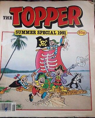 The Beezer and Topper Job Lot and Topper Summer Special 1991 (9 comics)