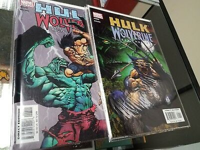 Hulk Wolverine Six Hours #1 - #4 Lot of 4 Comics