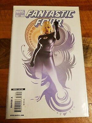 Fantastic Four #575 Women Of Marvel Djurdjevic Variant! Invisible Woman Marvel