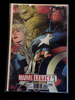 Marvel Legacy #1 Quesada Lenticular Variant Marvel Comics 2017 Nm/nm+