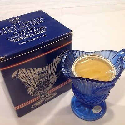 Avon Mount Vernon Sauce Pitcher with Candle