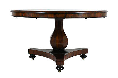 19th Century French Rosewood Tilt Top Center Dining Table Excellent Condition