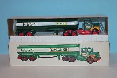 1972 1974 Hess Toy Tanker Truck Tank Trailer with Original Box & Inserts