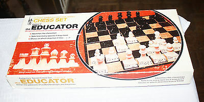 1972 Vintage Classic Games Collectors Series Chess Set Edition V the Educator