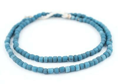 Dark Denim Java Glass Beads
