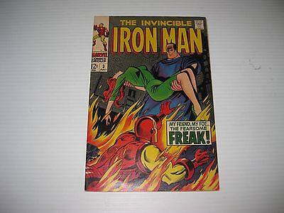 Iron Man # 3  Silver Age Comic Book  High Grade