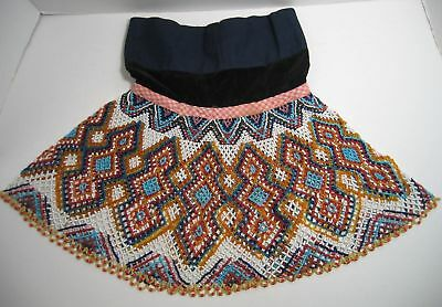 vintage Colorful Indian Beaded Collar Neck Wear