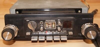 Vintage Pioneer GT-6600 AM/FM CB Radio untested sell parts or repair SN# XB19484