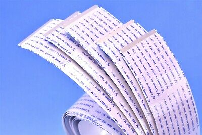 5 (Five) FFC 600mm Ribbon Cable 0.5mm 56-Position E248682 AWM 20941