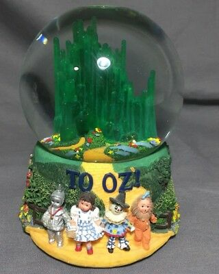 2000 Wizard of Oz / To Oz Snowglobe and Music Box by Madame Alexander