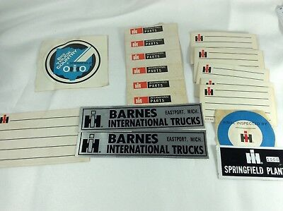 International Harvester Stickers Lot As-Is