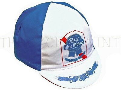 NEW Pabst Blue Ribbon Beer Cycling/Bicycle Hat - Road Bike/Fixie - Bella Capo