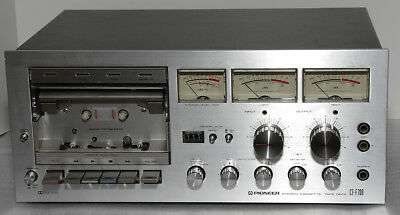 Vintage Pioneer CT-F700 Stereo Cassette Player Recorder - AS IS FOR PARTS or REP