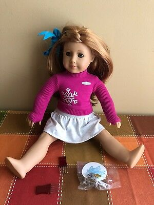 American Girl Meet Mia Girl of the Year 2008 Near Mint Outfit Discontinued Rare