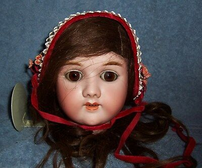 """SWEET Antique Girl Doll HAT #2 for Composition or Approx 28"""" German Bisque Doll"""