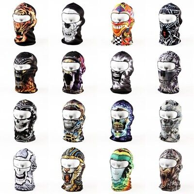 Balaclava Motorcycle Neck Winter Ski Bike Cycling Full Face Mask Cover Hat Cap
