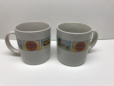 Coca-Cola coffee/tea cup hot with multiple design Marketed by Gibson