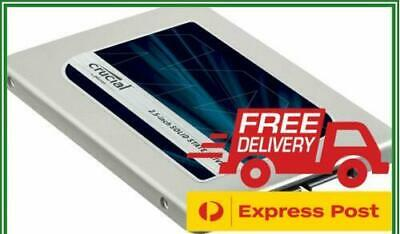 "500GB SSD Crucial MX500 2.5"" SATA Internal Solid State Laptop Drive 560MB/s"