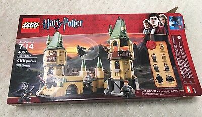 LEGO Harry Potter 4867 Hogwarts Castle 100% COMPLETE with Box and Instructions!