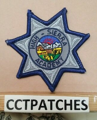 High Sierra Academy, Nevada Police Badge Shoulder Patch Nv