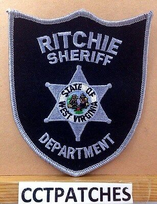 Ritchie County, West Virginia Sheriff (Police) Shoulder Patch Wv