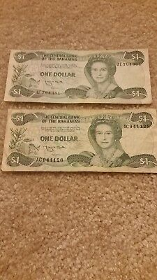 $1 Bahamas Currency Note