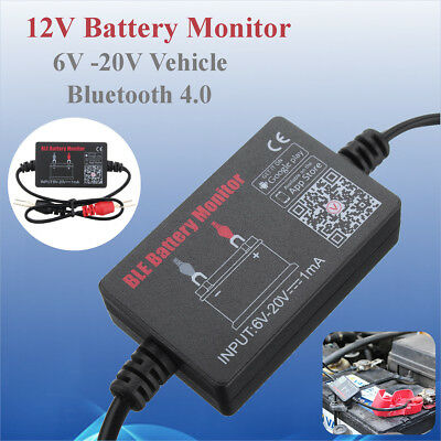 Car Battery Minitor Tester BM2​​ BLE Bluetooth 4.0 Device For 6-20V Vehicle 1mA