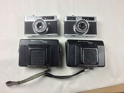 VINTAGE BELL & HOWELL Canon CAMERAS - Lot of 2 - Untested