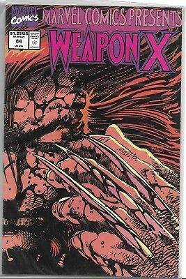 Weapon X Comics-Marvel-Professor, Logan-No. 84-1991