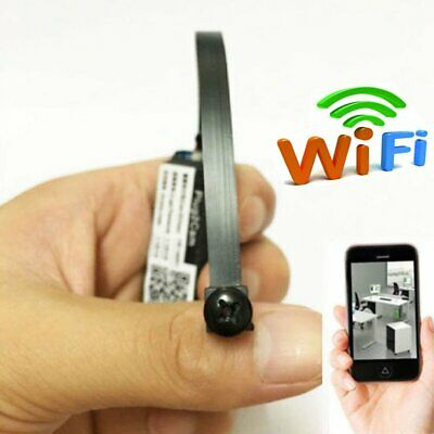 Wireless Mini Spy Tiny IP WIFI DIY Pinhole Hidden Audio Video Camera Micro DVR