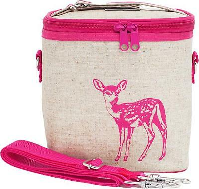 NEW So Young Insulated Lunch Bag Box Small Cooler Bag - Pink Fawn