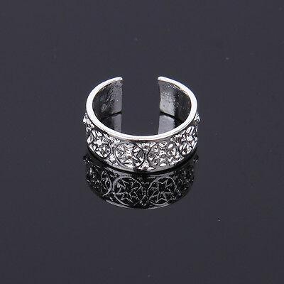925 Silver Toe Ring Adjustable Jewelry Rings Ankles Foot Decoration Body Jewelry